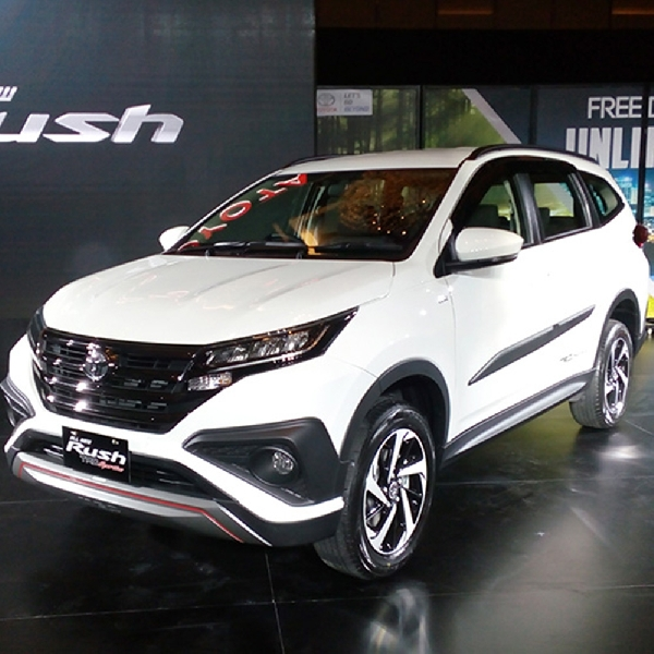 All New Toyota Rush Debut Perdana di Indonesia