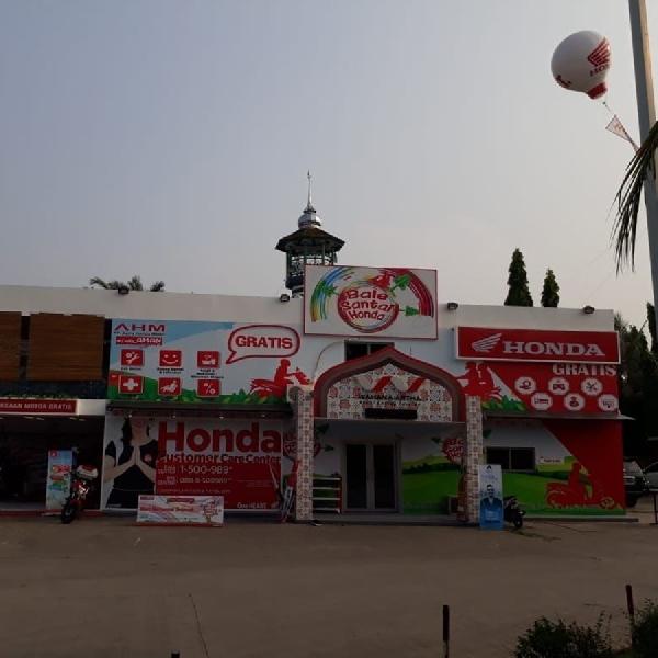 PT WMS Sediakan Posko Mudik untuk Pemotor Honda