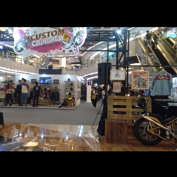 Ketika Builder Motor Custom Saling Kolaborasi dengan Industri Kreatif di Custom Collaboration 2018