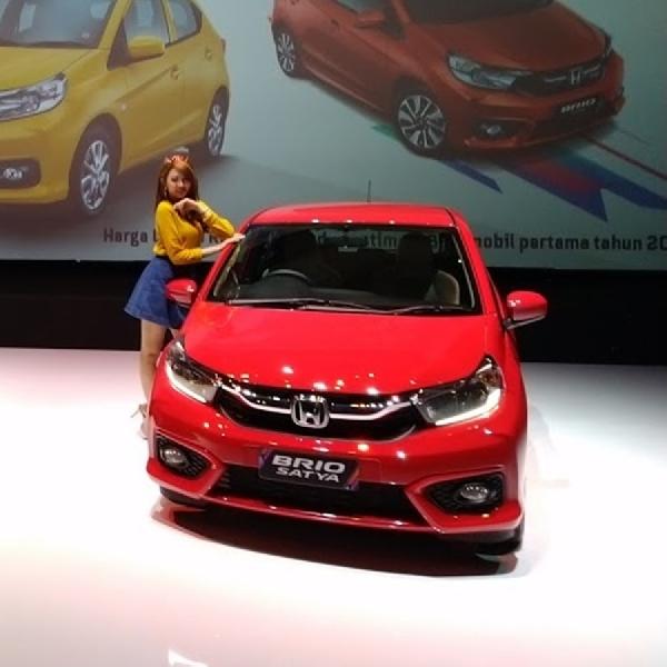 PT Honda Prospect Motor Umumkan Rencana Ekspor All New Honda Brio