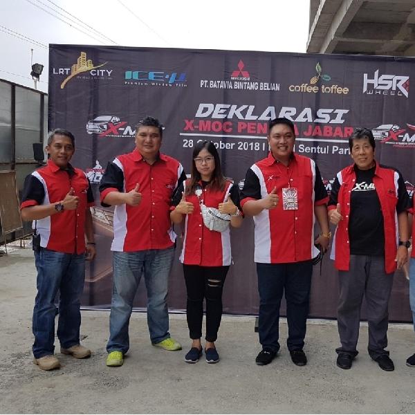 Komunitas Mitsubishi Xpander Resmi Miliki Kepengurusan di Jawa Barat