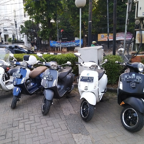 PT Piaggio Indonesia Ajak Media Rasakan Vespa GTS Super