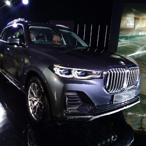 BMW Indonesia Resmi Luncurkan First Ever BMW X7