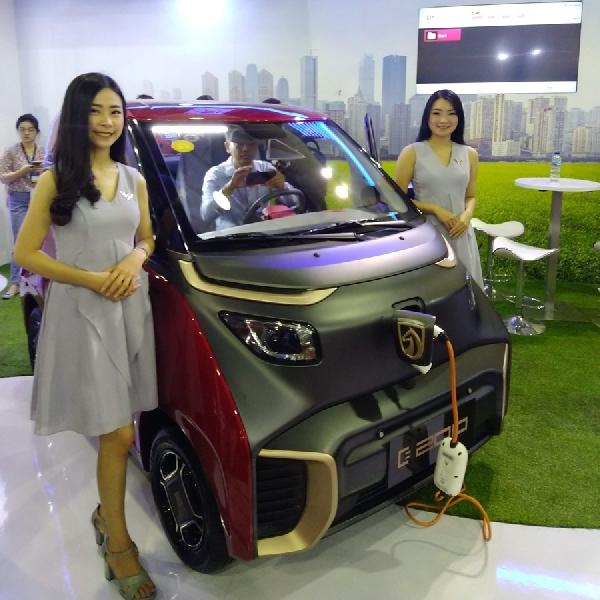 Pameran Kendaraan Listrik Perdana di Indonesia Resmi Dibuka