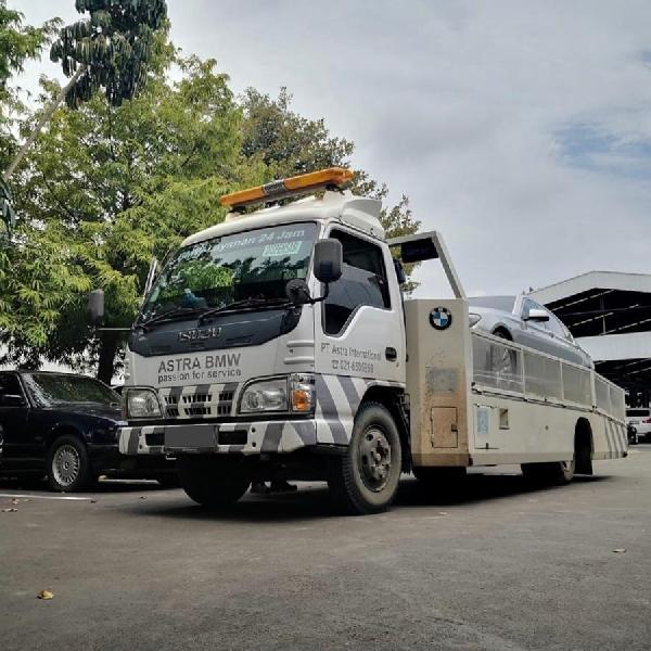 BMW Astra Siapkan Armada Jemput Kendaraan Terkena Banjir