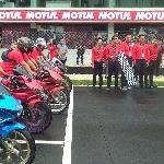 Motul Indonesia Ajak Awak Media dan Komunitas GSX R150 Jajal Sirkuit Karting