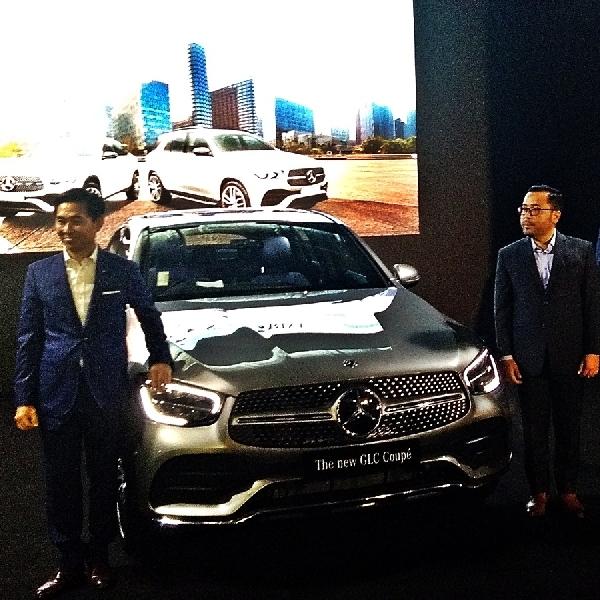 New GLC  300 Coupe, Sensasi Berakselerasi ala SUV Hadir di Senayan City