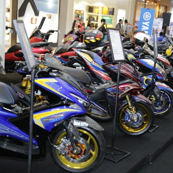 Customaxi x Yamaha Heritage Built Putaran ke-6 Dihelat di Solo