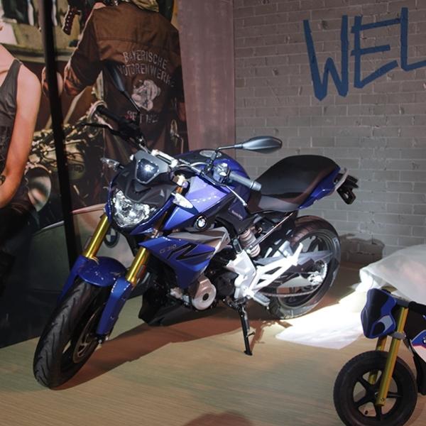 3 Produk Terbaru BMW Motorrad Tiba di IIMS 2017