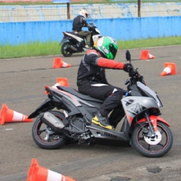 Yamaha Aerox 125LC di Mata Pebalap