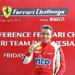 Renaldi Hutasoit Optimis Naik Podium di Ferrari Challenge Asia Pasific