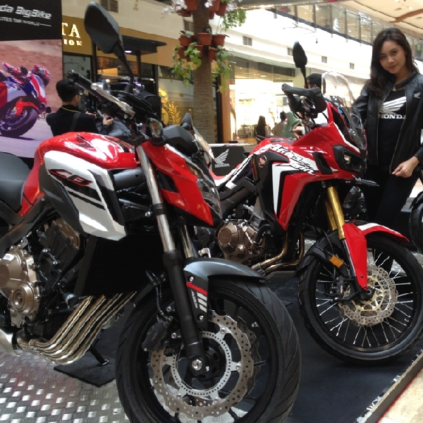 Wahana Gelar Honda Big Bike Exhibition 2017
