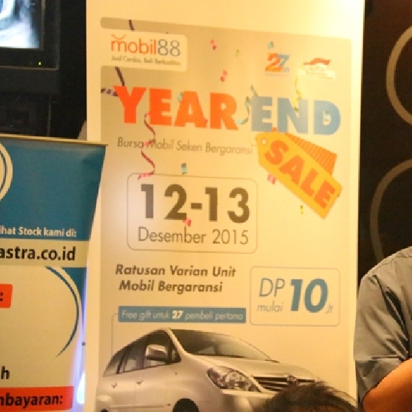 Jelang Tutup Tahun, Mobil88 Gelar Year End Sale