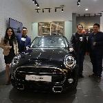 New MINI 3 Door Black Edition Mampir di Kota Bandung
