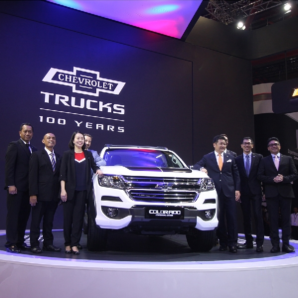 25 Unit Chevrolet  Colorado Centennial 2018 Persembahan General Motor untuk Market Indonesia