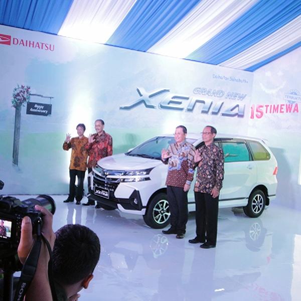 Efek Peluncuran Grand New Xenia Belum Maksimal Bagi Daihatsu
