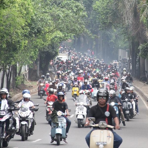 PT Piaggio Indonesia Berpartisipasi di Indonesia Vespa Days 2019