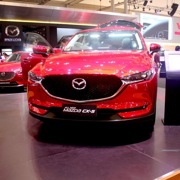 GIIAS 2017: Mazda CX5 Resmi diluncurkan Mulai Harga Rp 526 Juta