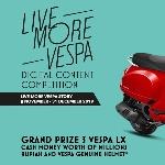 Piaggio Indonesia Gelar Kompetisi Konten Digital 2019, Live More Vespa Story