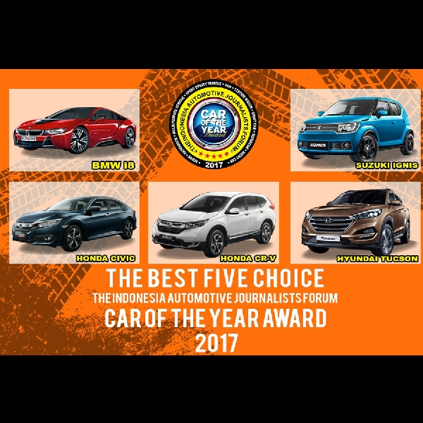 FORWOT Umumkan 5 Finalis FORWOT Car of the Year (FCY) 2017