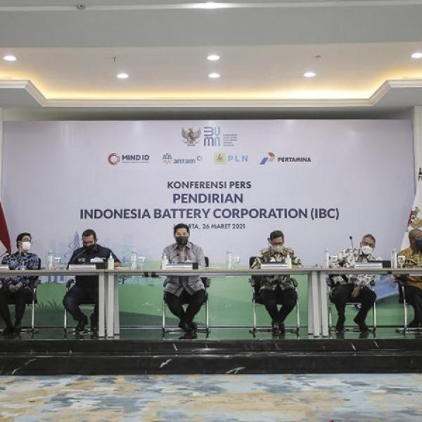 Indonesia Battery Corporation Resmi Dibentuk, Lampu Hijau Untuk Kendaraan Listrik