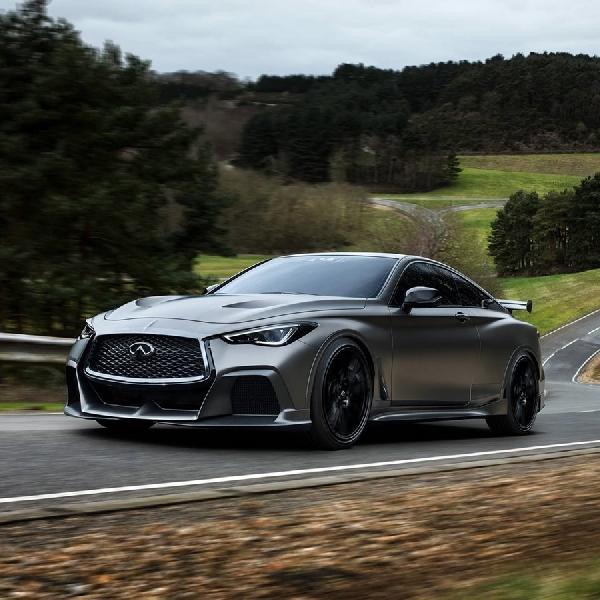 Infiniti Bawa Mobil Konsep ke Paris Motor Show