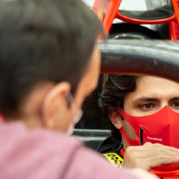 F1: Ingin Tiru Sang Idola, Carlos Sainz Punya Target Tinggi di Ferrari