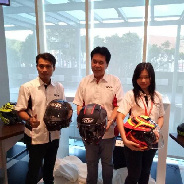 Ini 3 Helm Terbaru Besutan KYT dan INK