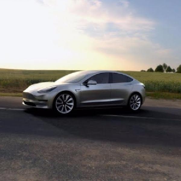 Ini Body yang Digunakan Tesla Model 3