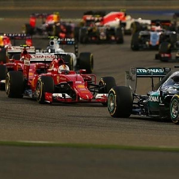 F1: Inilah Jadwal F1 2016 Sementara