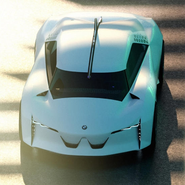 Inilah Konsep Hypercar Listrik BMW