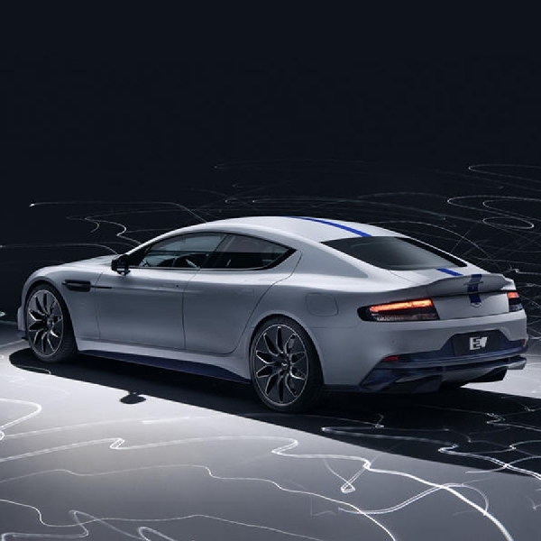 Inilah Mobil Sport Listrik Pertama Aston Martin