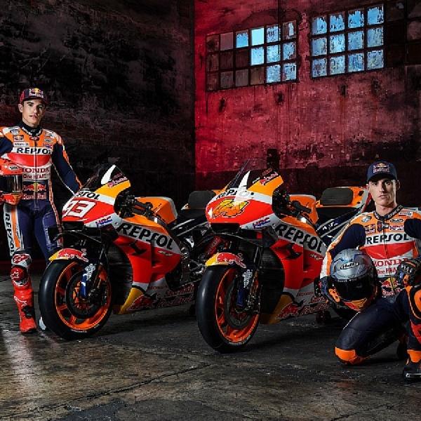MotoGP: Inilah Penampakkan Motor Terbaru Honda Untuk MotoGP 2021