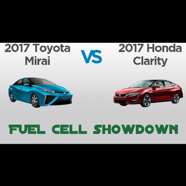 Inilah Perbedaan Toyota Mirai dan Honda Clarity