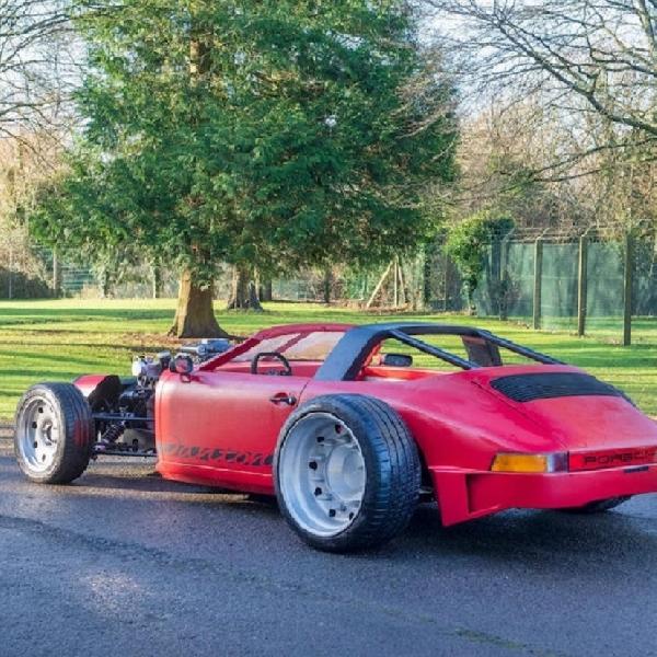 Inilah Porsche 911T Bergaya Hotrod