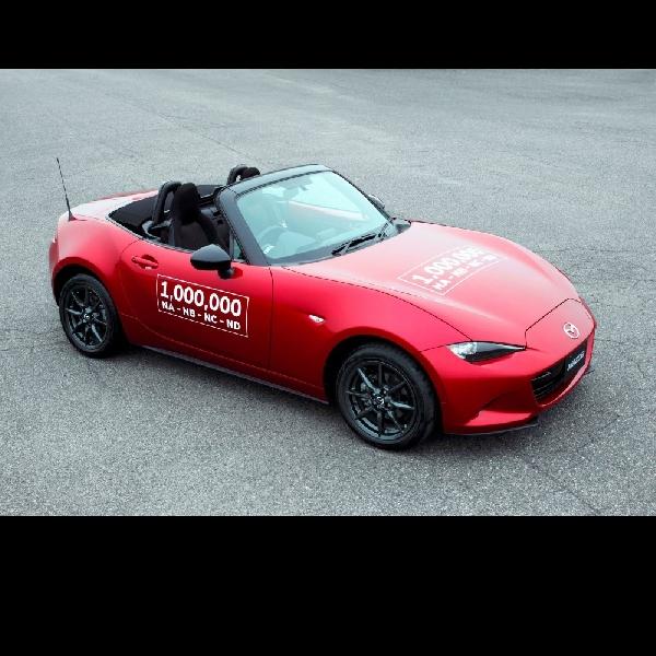 Inilah Sejarah Mazda MX-5 yang Tembus Produksi Satu Juta Unit