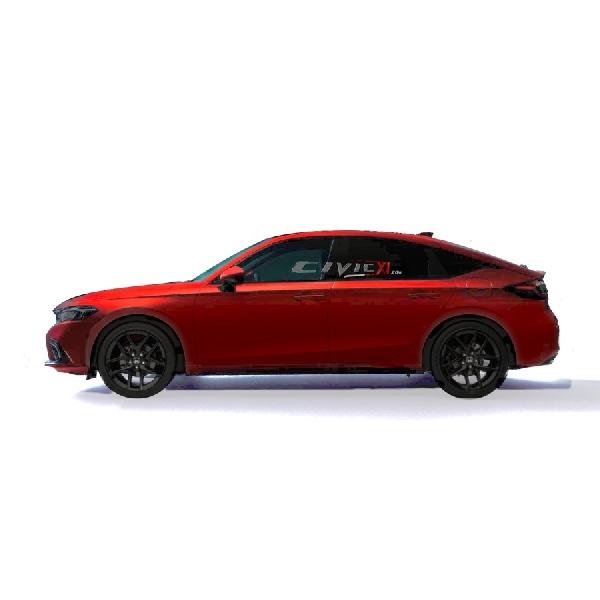 Inilah Wujud Asli Honda Civic Hatch 2022, Lebih Konservatif