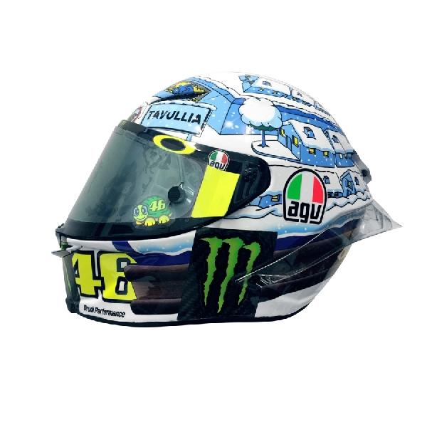 MotoGP: Inilah Wujud Desain Helm Anyar Valentino Rossi