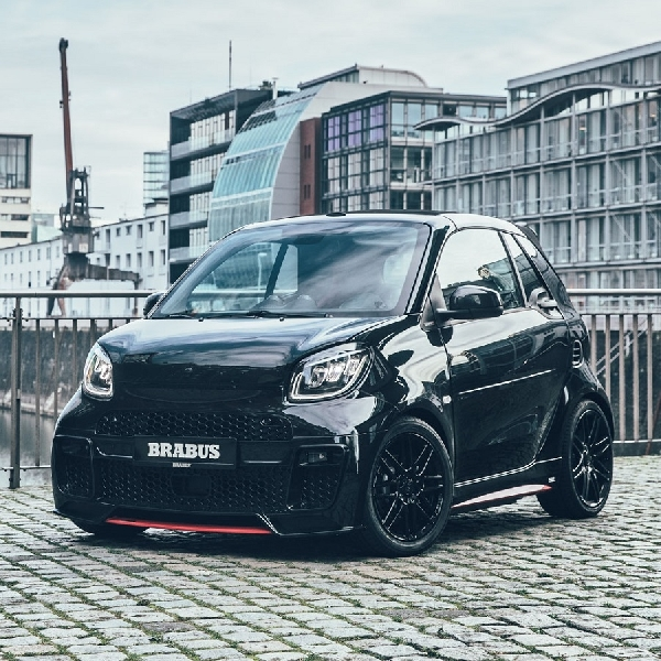 Brabus Ubah Electric Smart Jadi 'Urban Supercar'