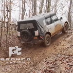 Intip Ford Bronco Pamer Skill Off-road di Trek Cadas