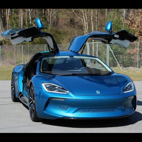 Isdera Commendatore GT, Sportscar Elektrik di Beijing Auto Show