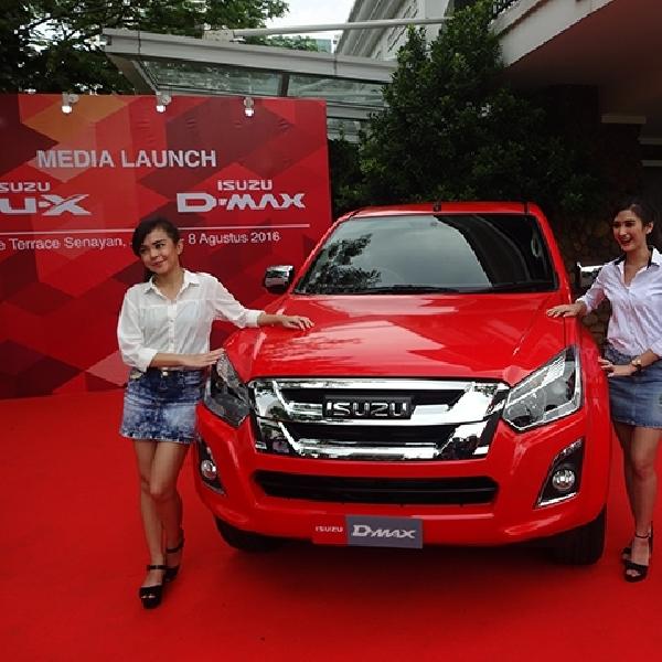 Isuzu Resmi Kenalkan D-Max Facelift Mulai dari Harga Rp 341 Juta