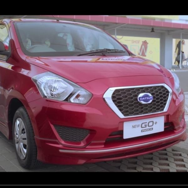 Kini Datsun GO+ Panca Punya Transmisi CVT