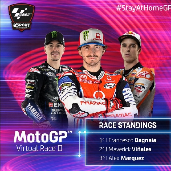 MotoGP: Jadi Kandidat Juara di Virtual Race MotoGP, Siapakah Francesco Bagnaia?