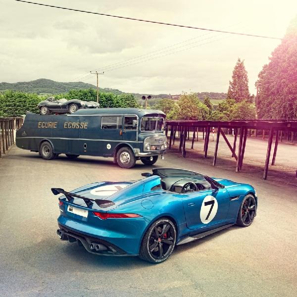 Jaguar Kembangkan F-Type GT 4 untuk Permintaan Khusus