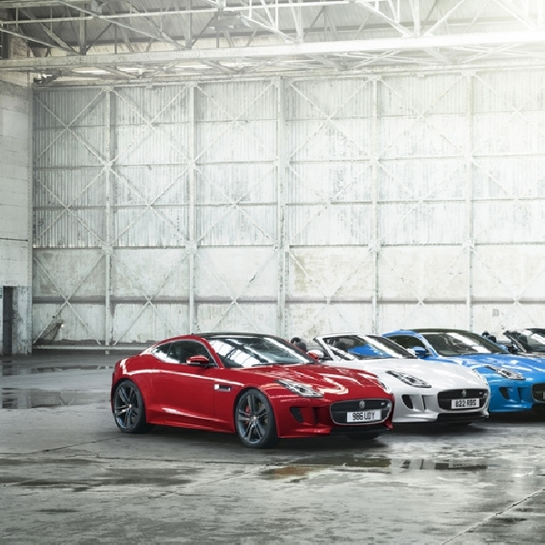 Jaguar Kenalkan F-Type British Design Edition