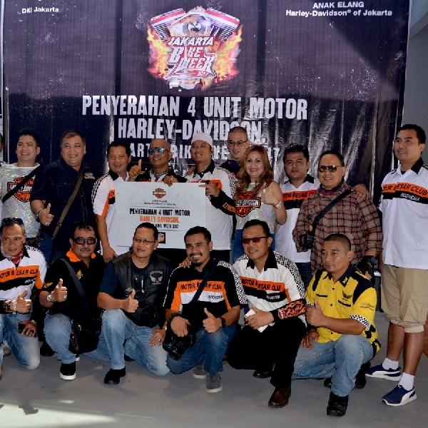 4 Motor Harley-Davidson Jadi Kendaraan Operasional Jakarta Bike Week 2017