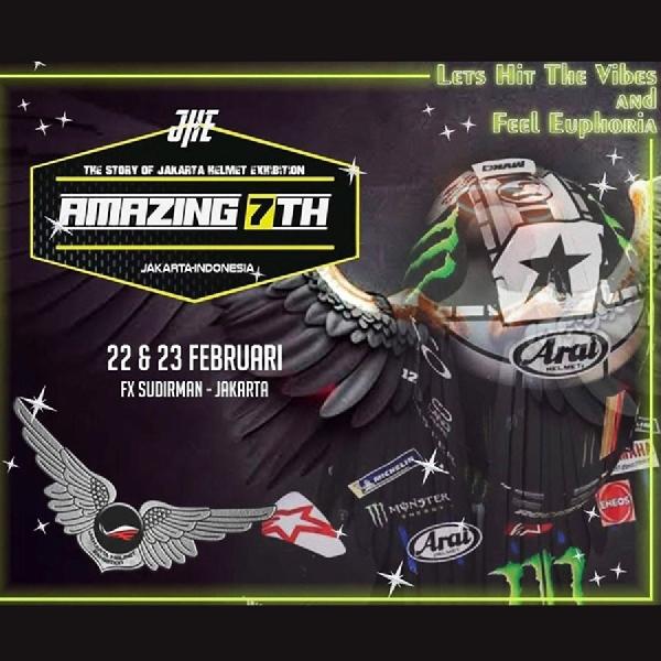 Jakarta Helmet Exhibition ke-7 Hadir di FX Sudirman Pekan Ini