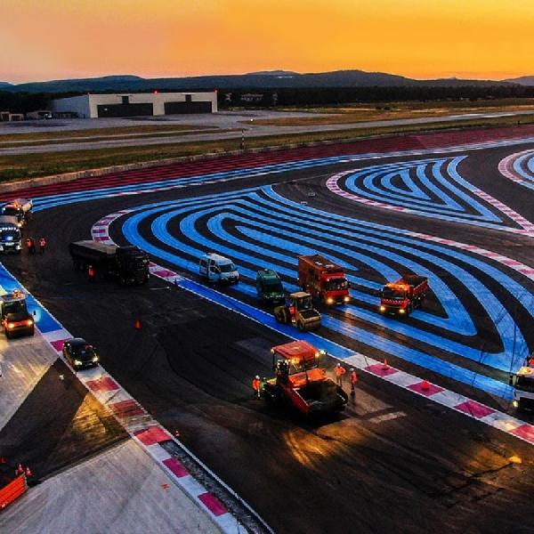 F1: Jelang Grand Prix Perancis 2021, Sirkuit Paul Ricard Direnovasi