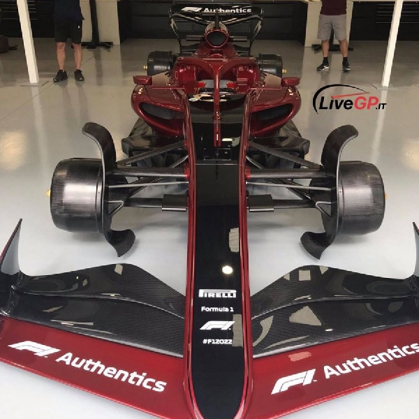 Jelang Peluncuran Resmi, Foto Mobil F1 Tahun 2022 Terkuak